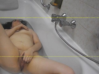 Audio Only Bath masturbation sounds with orgasm